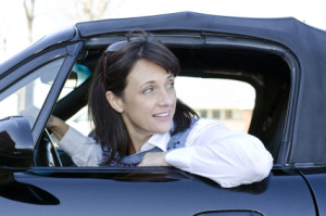 Es geht rückwärts: Fahren Sie angepasst.