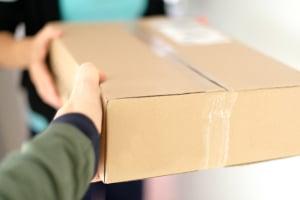 Auch Paketboten können Sonderrecht gemäß StVO haben.