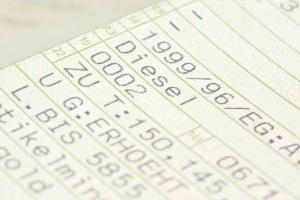 Um ein Tageskennzeichen zu beantragen, müssen Sie u.a. die Zulassungsbescheinigung vorlegen.