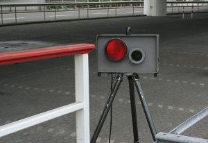 TRAFFIPAX SpeedoPhot ist ein mobiles Radar-Messgerät.