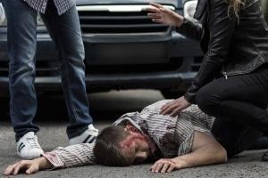 Bei einem Unfall mit Personenschaden ist Schmerzensgeld prinzipiell möglich.