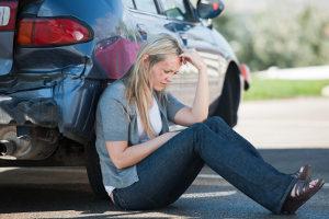 Ein unverschuldeter Unfall - Schmerzensgeld ist einer der möglichen Ansprüche des Unfallopfers.