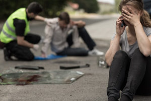 Das Verhalten bei Unfällen ist gesetzlich geregelt.