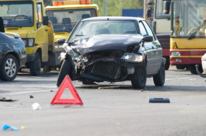 Wie sollte man sich bei einem Unfall verhalten?