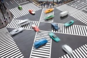 Verhalten am Fußgängerüberweg