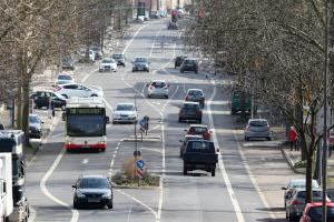 Was droht, wenn Sie auf einer Verkehrsinsel parken?