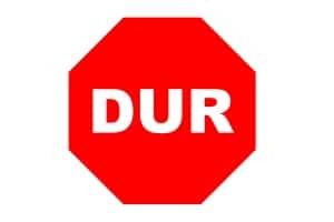 STOP! Die Verkehrszeichen der Türkei entsprechen häufig denen in Deutschland.