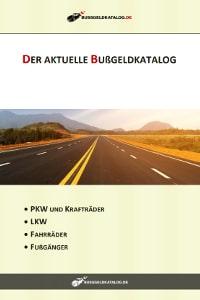 Bußgeldkatalog als PDF zum Download