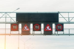 Wechselverkehrseichen können nach Bedarf der Verkehrssituation angepasst werden.