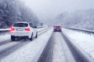 Auch in Deutschland sind Winterreifen Pflicht.