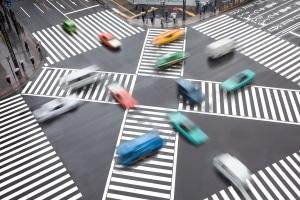 Zebrastreifen: Ein Unfall kann durch ein reduziertes Tempo verhindert werden.
